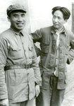Yenan, China, Chu Teh and Mao Tse-Tung
