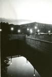 Bangor, Maine, Kenduskeag Canal by Lamplight