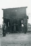 Addison, Maine, Post Office After Fire of 1938