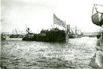 Burial of the Maine, Towing in Havana Harbor