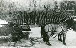 Grindstone, Maine, Jordan Lumber Company Camp