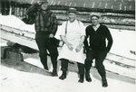 Lumbermen Joe Guy, Frank Wilson, Rouchel Lollipop Larsen