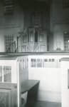 Alna, Maine, Old Meetinghouse Interior by Franklin Eaton