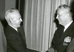 Raymond H. Fogler at Navy Secretatiat Reunion Meeting