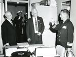 Raymond H. Fogler at Inspection, U.S. Naval Academy