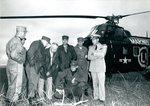 Raymond H. Fogler Visiting Camp Pendleton