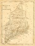 Map of Maine, circa 1816