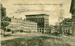 Bangor, Maine, East Market Square and Morse-Oliver Building
