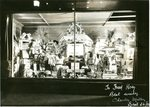 Bangor Display Window Welcoming Red Sox and Fred Hoey, 1935