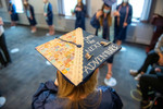 Decorated Graduation Cap by Division of Marketing and Communications