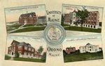 University of Maine, Orono, Maine.