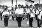 Band, 1988, drums and xylophone