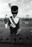 Band, 1978, xylophone player