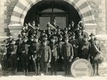 World War I, University of Maine band.