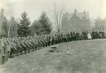 World War I, University of Maine, Winslow Hall, soldiers.