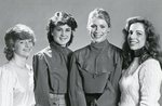 U.S. Army ROTC Military Ball Queen Candidates 1983